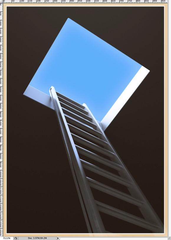 Minimalistic Poster Design In Photoshop
