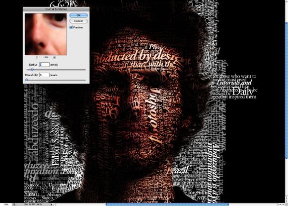 Super Easy Typographic Portrait in Photoshop