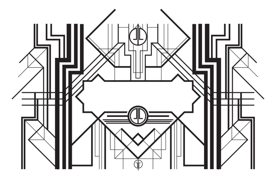 The Great Gatsby Art Deco Style In Illustrator And Photoshop