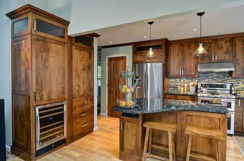 compact kitchen sink home depot kraftmaid cabinets 日式厨房装修效果图 这样的设计让你爱不释手_新赣州房产网_9ihome.com