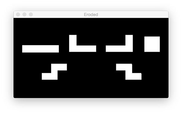 Opencv Learning Guide (2): find the number of Tetris | Develop Paper