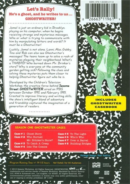 Ghost Writer Season One DVD 1992  DVD Empire
