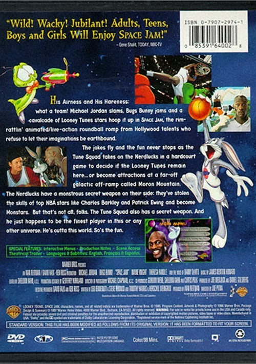 Space Jam DVD 1996  DVD Empire