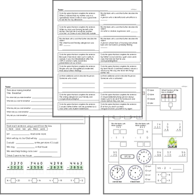 Free L.3.5.B Worksheets and Practice for Language Arts