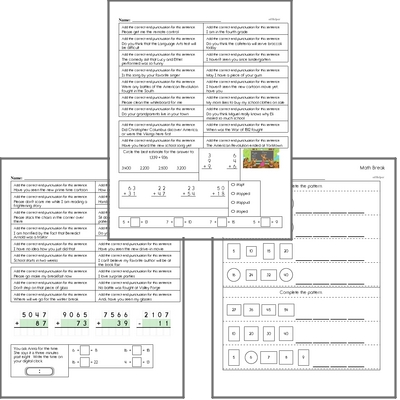 Free L.4.3.B Worksheets and Practice for Language Arts