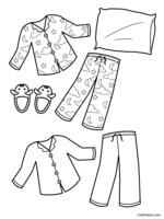 Preschool Pajama Day Worksheets. Preschool. Best Free