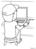 Free Printable Glyphs Worksheets for Kids| edHelper.com