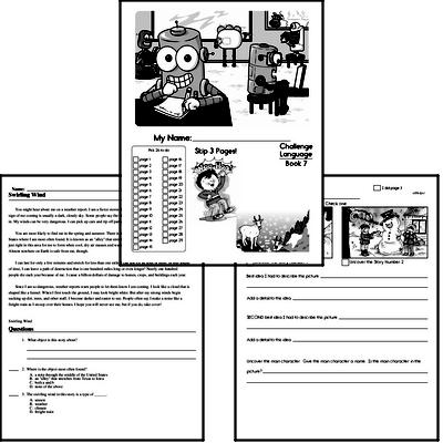 Fifth Grade Language Challenge Workbooks for December