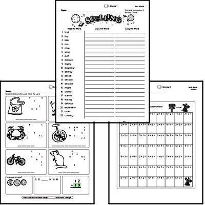 Second Grade Spelling, Vocabulary, and Word Study