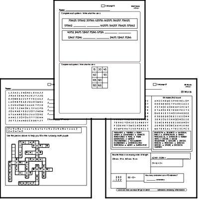 Sixth Grade Spelling, Vocabulary, and Word Study Workbooks