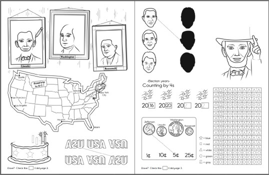 President S Day Coloring Pages Worksheets Lessons And Printables