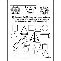 Made by Teachers: Attributes Of Shapes First Grade