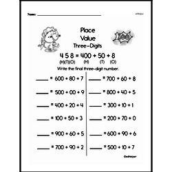 1st Grade Place Value Worksheets Pdf - Tutorial Worksheet