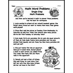 Word Problems Worksheets: Free Printable PDF Resources