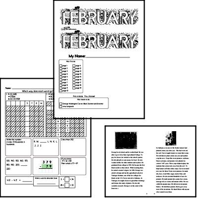 Third Grade February Resources for Your Class