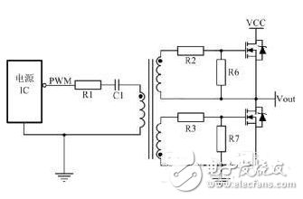 The circuit diagram of MOS switch is complete (detailed