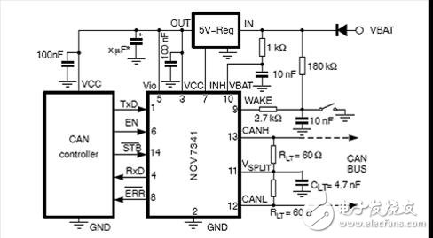 Design of vehicle serial network system based on Lin and