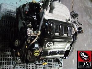 02 05 MAZDA MPV 30L V6 24 VALVE DURATEC 30 ENGINE & AUTO