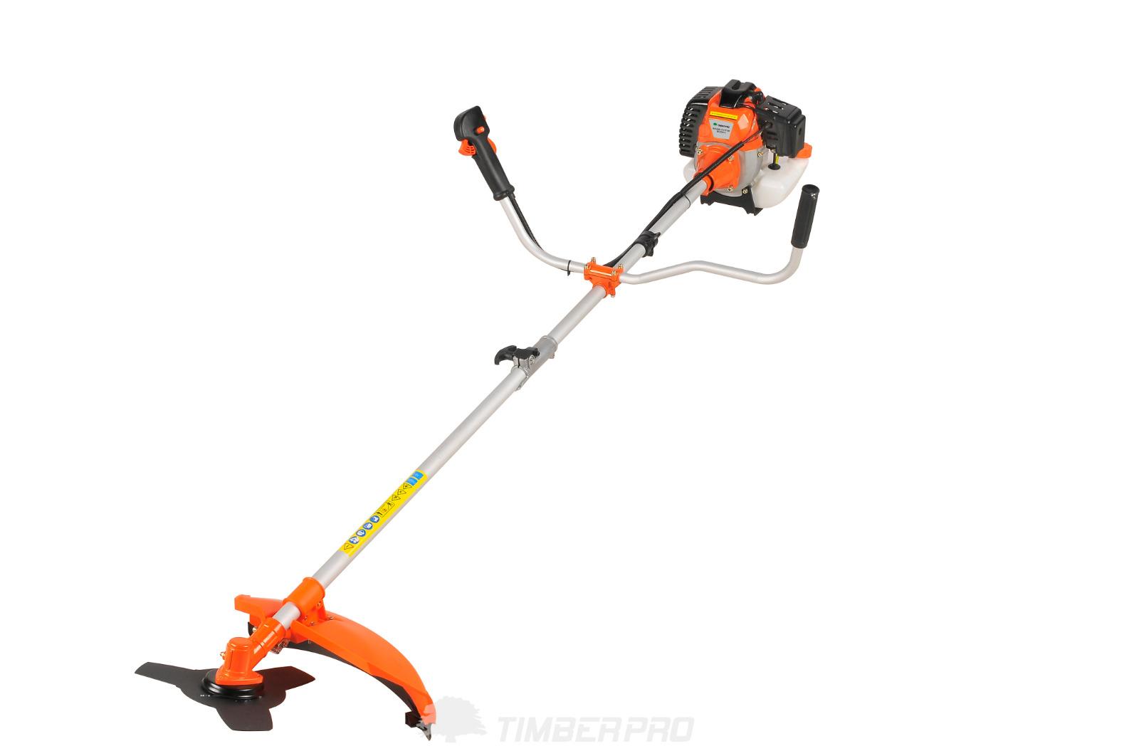 52cc Heavy Duty 2in1 Petrol Strimmer Grass Trimmer Brush