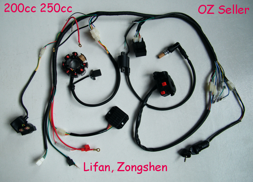 Chinese Atv Wiring Diagrams For Loncin Engine Powered Atvs And Dirt
