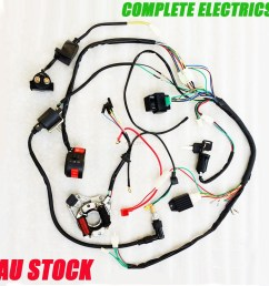 complete electric wire coil for pit dirt bike motorcycle kazuma 70cc atv wiring diagram [ 1000 x 1000 Pixel ]