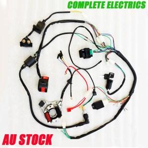 COMPLETE ELECTRICS ATV QUAD 50cc 70cc 110cc 125cc coil cdi