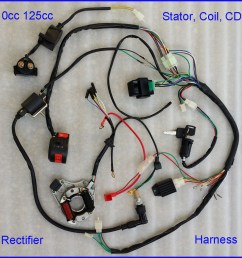 autd041 1 110cc complete wire harness wiring cdi assembly atv quad [ 1024 x 964 Pixel ]