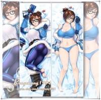Hot Game Overwatch Dr. Mei-Ling Zhou Dakimakura Hug Body ...
