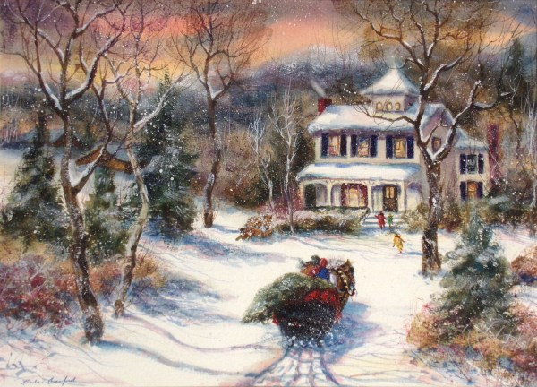 Linda Crawford Signed Original Watercolor Painting Horse