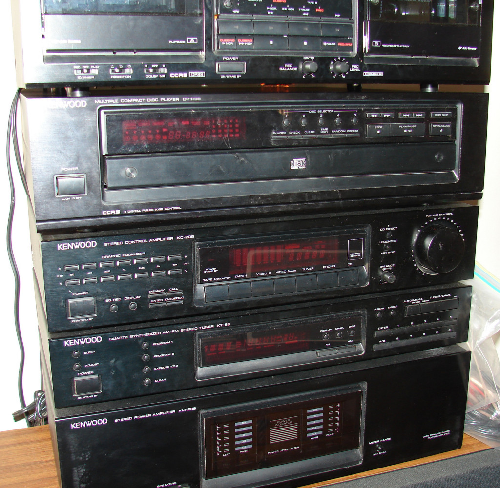 COMPLETE Kenwood Stereo System6 Components PLUS 2
