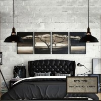 Industrial Retro Vintage Black Pendant Lamp Kitchen Bar ...