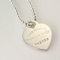 tiffany heart necklace ebay ,tiffany and co wedding ring sets