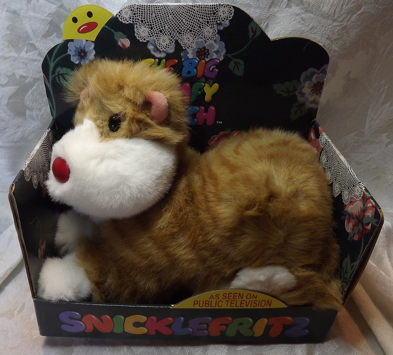 Snicklefritz The Cat The Big Comfy Couch Plush Dolls Toy NIB EBay