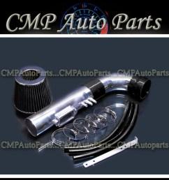 details about black air intake kit fit 1998 1999 2000 lexus gs400 4 0 4 0l v8 engine [ 1050 x 1050 Pixel ]
