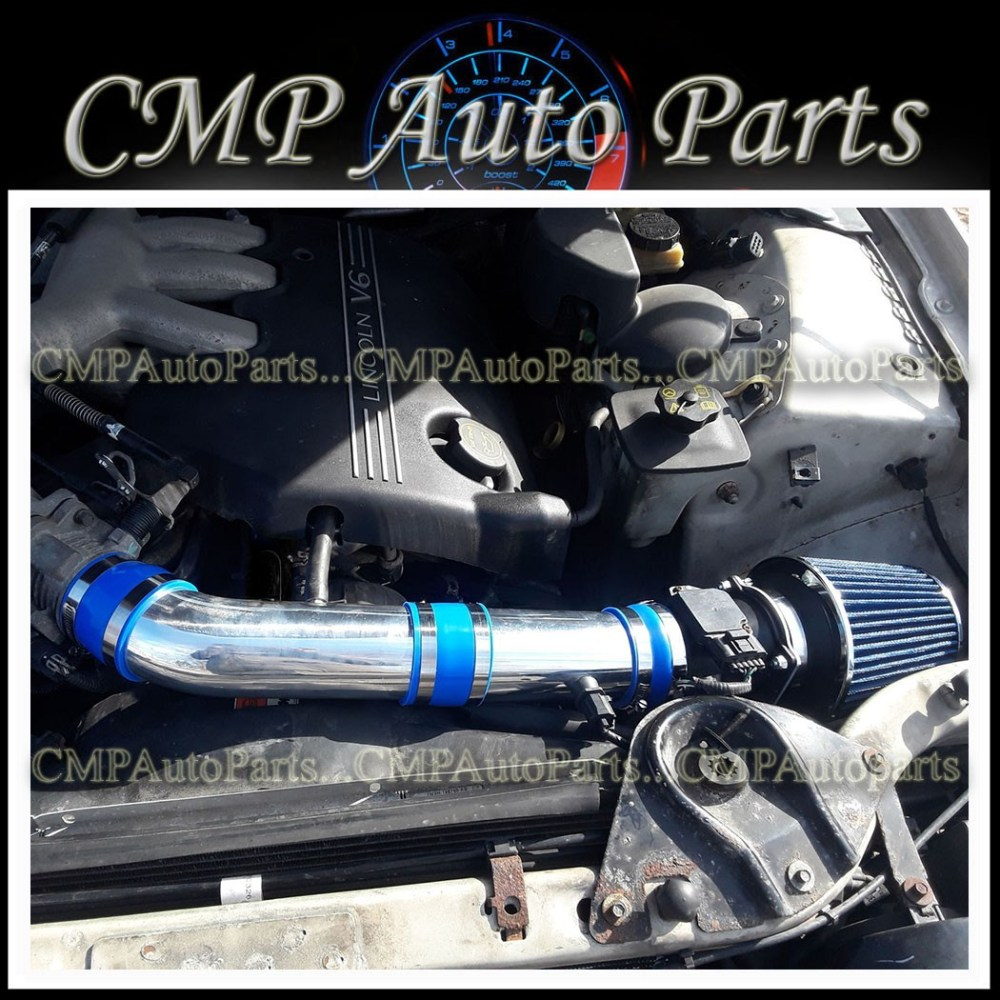 medium resolution of details about blue air intake kit systems fit 2000 2002 lincoln ls 3 0 3 0l v6 engine