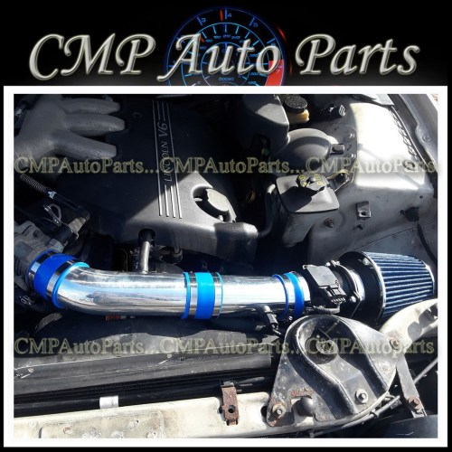 small resolution of details about blue air intake kit systems fit 2000 2002 lincoln ls 3 0 3 0l v6 engine