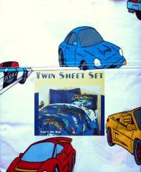 CARS AND TRUCKS 3PC TWIN SHEETS BEDDING SET NEW | eBay