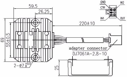150cc regulator wiring diagram