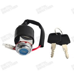 details about ignition key switch 2 wires kit for honda cl 100s 70 73 cl125s 73 74 cl70 70 72 [ 1600 x 1600 Pixel ]