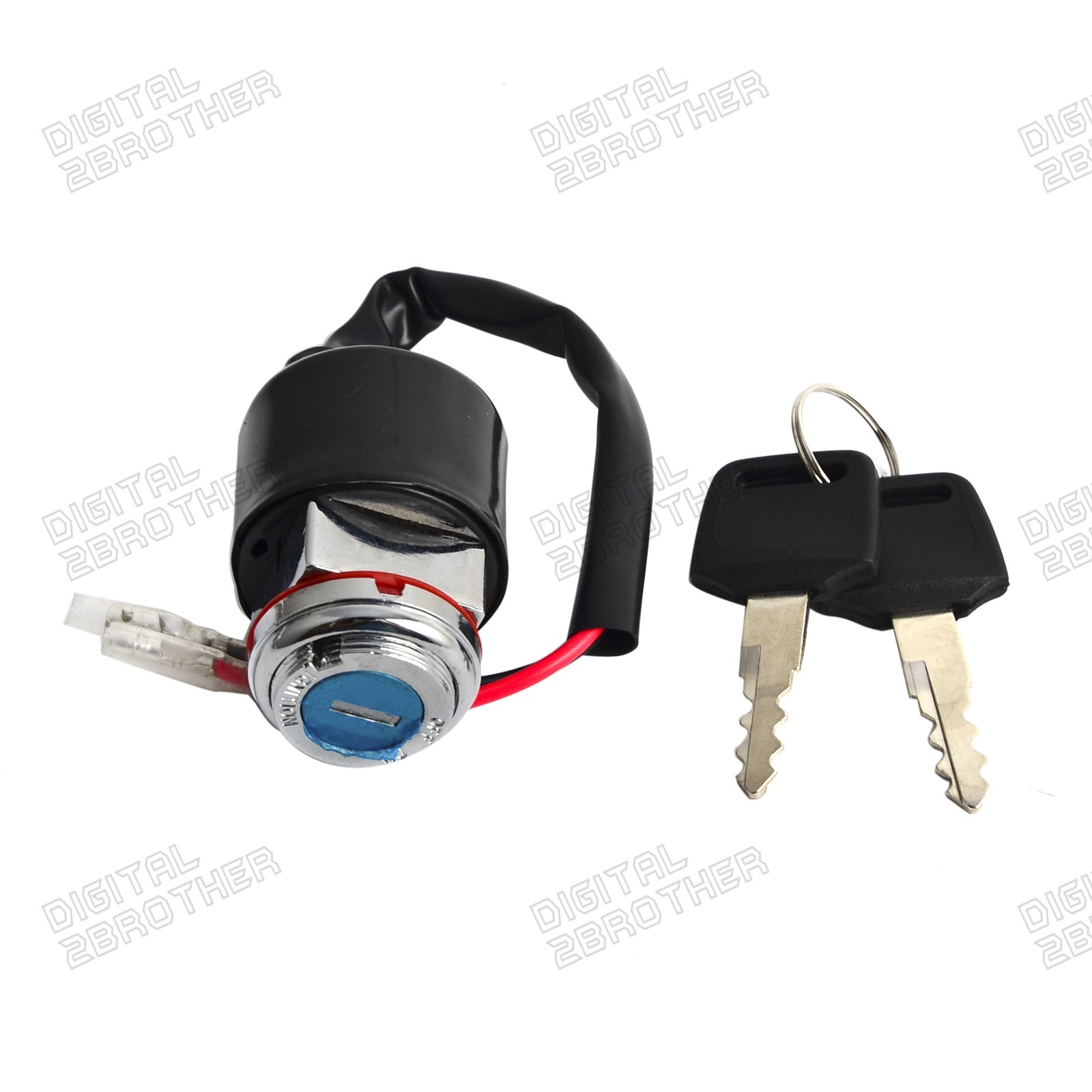 hight resolution of details about ignition key switch 2 wires kit for honda cl 100s 70 73 cl125s 73 74 cl70 70 72