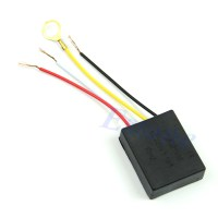 Table light Parts Black On/off 1 Way Touch Control Sensor ...