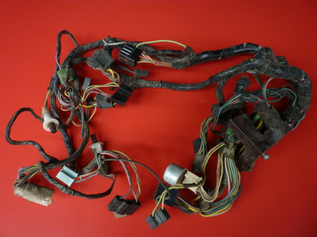 Cluster Feed Wiring Harness 68 Ford Mustang With Tach Fits Mustang