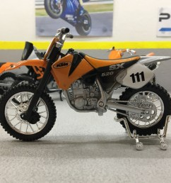 details about ktm 520 sx 1 18 scale die cast model motorcycle bike [ 1600 x 1600 Pixel ]