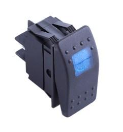 4 prong rocker switch wiring diagram 5x 12v led on off illuminated rocker 4pin [ 1001 x 1001 Pixel ]