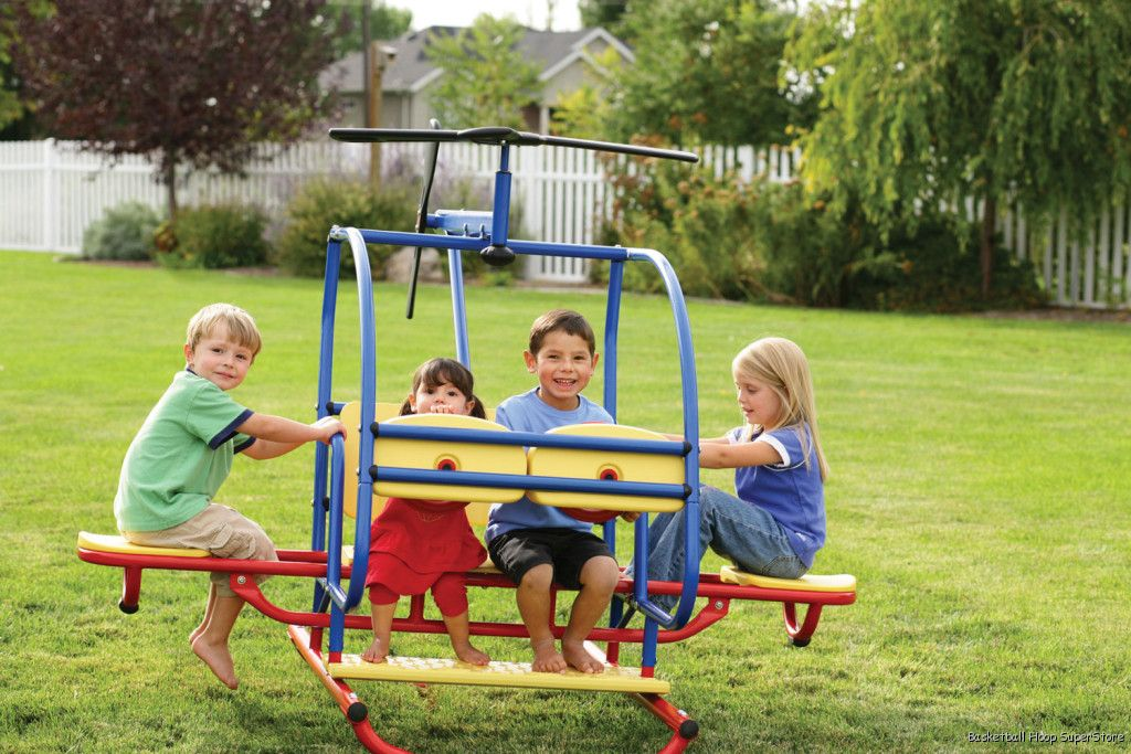 LIFETIME Playground/Playset HELICOPTER Teeter Totter