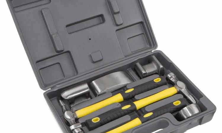 7pc Fiberglass Auto Body Repair Tools Fender Tool Ki