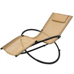 Zero Gravity Pool Chairs Antique Cast Iron Garden Orbital Chair Recliner Lounge Patio Black Tan Navy Details About Blue Brown