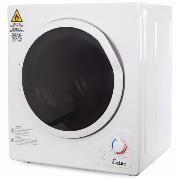 Portable Stainless Steel Tumble Dryer Home Apartment Rv Dome Compact 11lbs