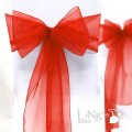 Details about organza chair cover sash bow wedding anniversary party