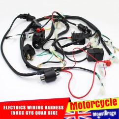 Gy6 Wiring Harness Diagram Trailer Connector 7 Pin 150cc Cdi Plug Get Free Image About